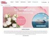 Blume2000 Muttertag-Gewinnspiel TUI Kreuzfahrt