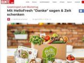 Bunte Muttertag Gewinnspiel HelloFresh Kochboxen gewinnen