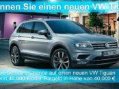 Burda Direct VW Tiguan Auto Gewinnspiel