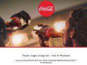 Coca Cola Gewinnspiel Fußball WM Russland Reise