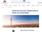 DM Gewinnspiel Schwarzkopf Berlin Shopping Reise