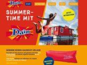 Daim Gewinnspiel Summertime Hausboot Urlaub gewinnen