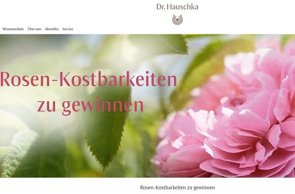 Dr Hauschka Gewinnspiel 10 Rosenkostbarkeiten Sets Gewinnen