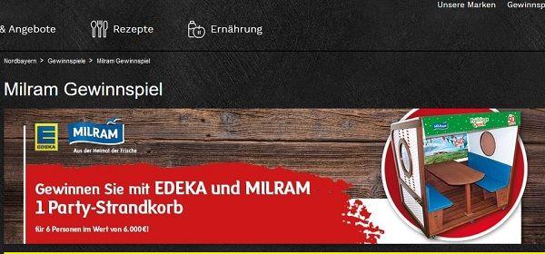 Gewinnspiele Edeka