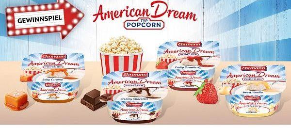 Ehrmann Gewinnspiel American Dream New York Reise gewinnen