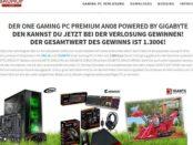 Gamer PC Gewinnspiel Bauhof Weber