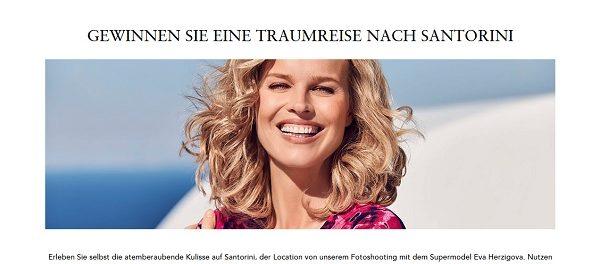Gerry Weber Gewinnspiel Santorini Traumreise 2018