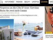 Grazia Magazin Gewinnspiel Reise Cannes Filmfestspiele