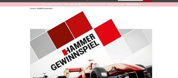 Hammer Gewinnspiel Formel 1 Wochenende Monza