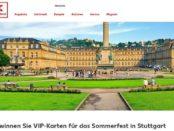 Kaufland Gewinnspiele Reise Stuttgart Sommerfest VIP-Karten