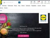 Lidl Gewinnspiel Fan Burger 1.000 Euro Grillset