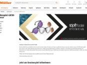 Müller GNTM Eyewear Gewinnspiel