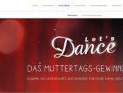 Merci Let´s Dance Muttertags-Gewinnspiel Köln Reise