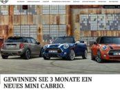 Mini Carbio Gewinnspiel 3 Monate kostenlos fahren