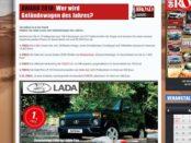 Off Road Magazin Gewinnspiel Lada 4x4 Urban Plus