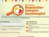 Penny Sommer-Gewinnspiel Weber Holzkohlegrill gewinnen