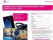 Telekom Gewinnspiel Samsung Entertainment Paket