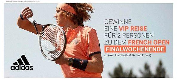 Tennis Point Gewinnspiel French Open Paris Reise