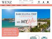 Wenz Versand Gewinnspiel Barcelona Reise oder 1.000 Euro Bargeld