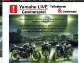 Yamaha Motorrad Gewinnspiel MT-09 gewinnen