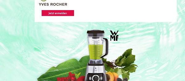 Yves Rocher Gewinnspiel WMF Smoothie Maker