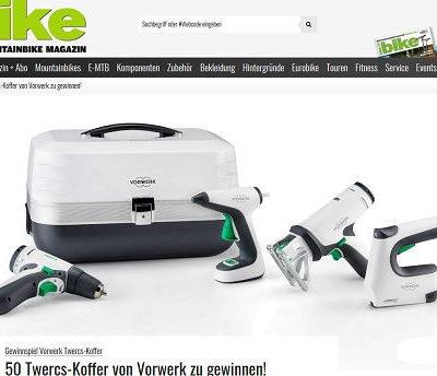 bike Magazin Gewinnspiel 50 Twercs Vorwerk Werkzeugkoffer