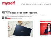 myself Gewinnspiel Acer Swift 5 Notebook