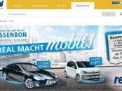 real Gewinnspiel Tesla und 2 VW e-up Kassenbon Gewinncode