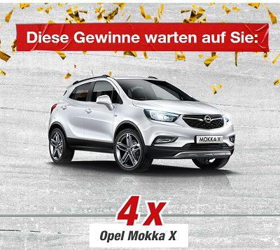 toom Baumarkt Auto-Gewinnspiel Opel Mokka Rubellos Aktion 2018
