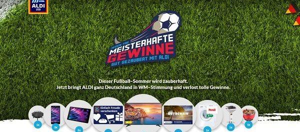 Aldi Sud Gewinnspiel Fussballzauber Taglich Sachpreise