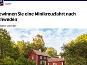 Aldi Gewinnspiel Schweden Minikreuzfahrt
