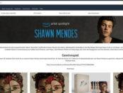 Amazon Gewinnspiel Shawn Mendes Tickets und Meet&Greet