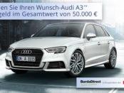 Auto Gewinnspiel Burda und Ergo Audi A3 gewinnen