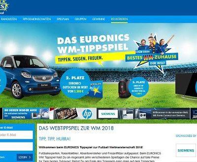 Auto-Gewinnspiel Euronics WM-Tippspiel Smart fortwo