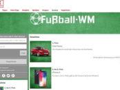 Auto-Gewinnspiel Kaufland WM Tippspiel 2018