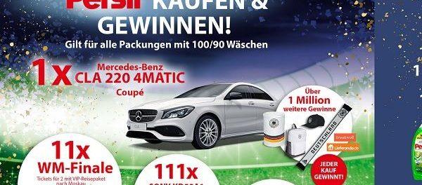 Auto Gewinnspiel Mercedes CLA 220 4Matic Persil Nationalmannschaft