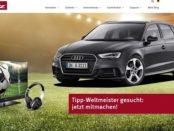Auto Gewinnspiel Metz Audi A3 WM Tippspiel 2018