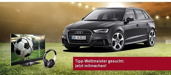 auto gewinnspiel metz audi a3 fu ball wm tippspiel 2018. Black Bedroom Furniture Sets. Home Design Ideas