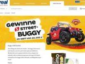 Auto Gewinnspiel real und die Limo Quadix Street-Buggy
