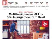 Bild.de Gewinnspiel Dirt Devil Akku Staubsauger