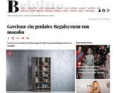 Brigitte Gewinnspiel mocoba Regalsystem