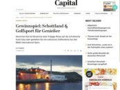 Capital Gewinnspiel Schottland Genießer Reise gewinnen