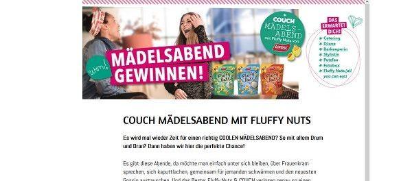 Couchstyle Gewinnspiel Mädelsabend inklusive DJane und Verpflegung