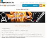 Couponplatz Weber Grill Gewinnspiel 2018