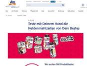 DM Gewinnspiel Heldenmahlzeit Hundefutter Produkttest