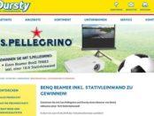 Dursty S. Pellegrino Gewinnspiel Beamer und Leinwand