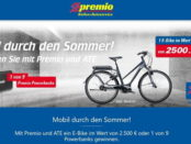 E-Bike Gewinnspiel Premio Autoservice 2018