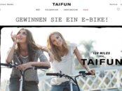 E-Bike Gewinnspiel Taifun Versand