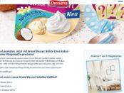 Ehrmann Gewinnspiel Grand Dessert Hängematten