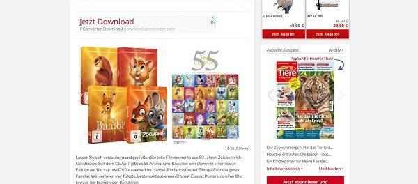 Ein Herz für Tiere Gewinnspiel Disney Kinderfilme DVDs